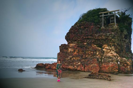 根っこから祈る☆「出雲大社」で「稲佐の浜」からのお砂取り参拝_a0329820_17342577.jpg