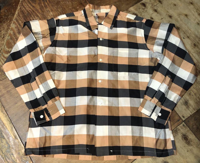 3月21日(土)入荷!60s Cotton&Silk オープンカラー シャツ!_c0144020_16571884.jpg