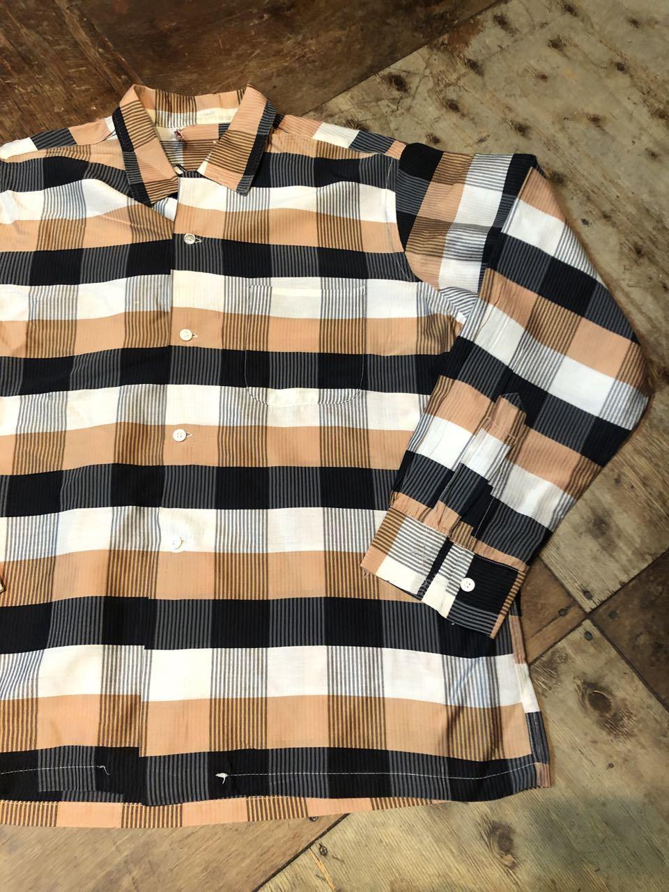 3月21日(土)入荷!60s Cotton&Silk オープンカラー シャツ!_c0144020_16572113.jpg