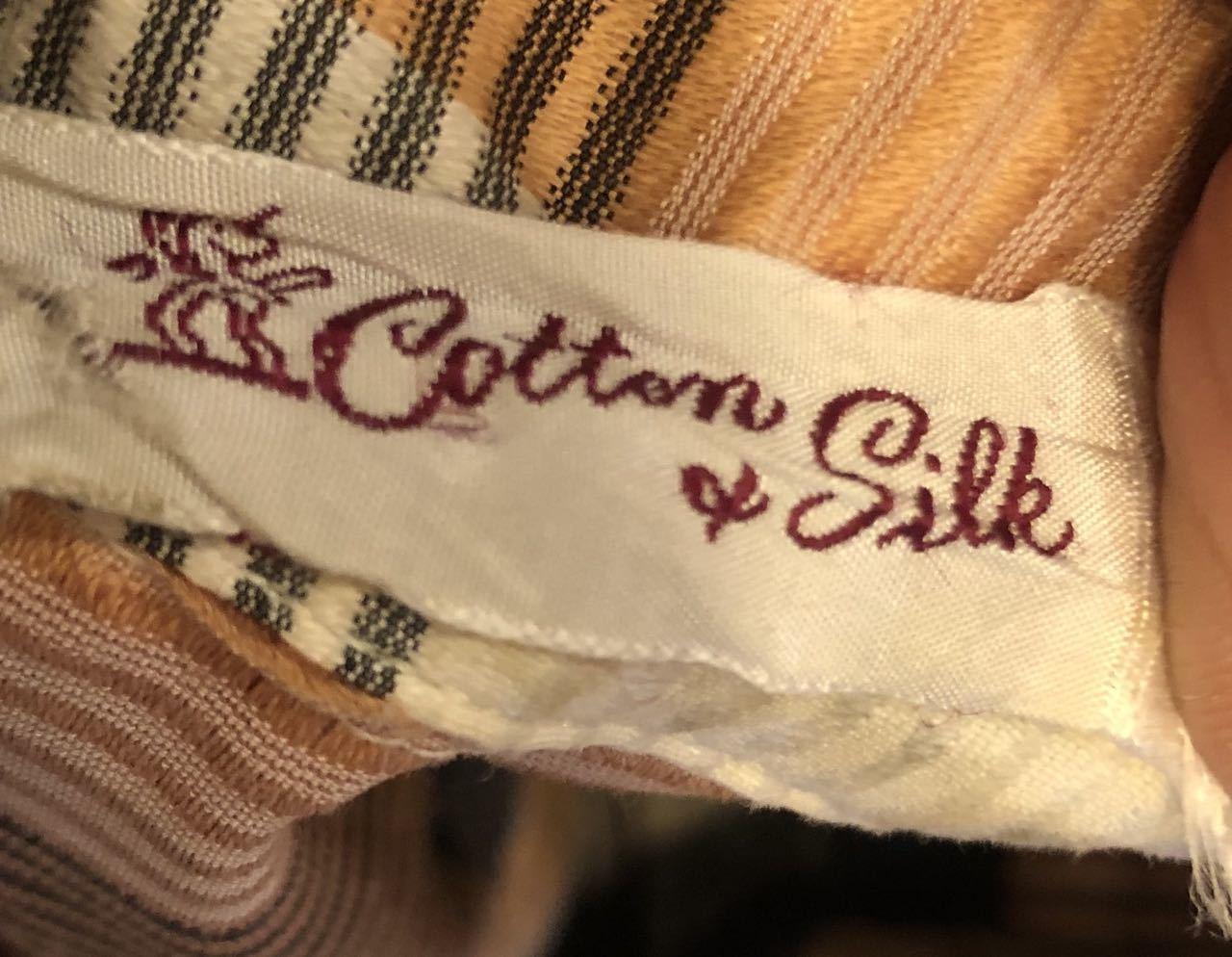 3月21日(土)入荷!60s Cotton&Silk オープンカラー シャツ!_c0144020_16572392.jpg