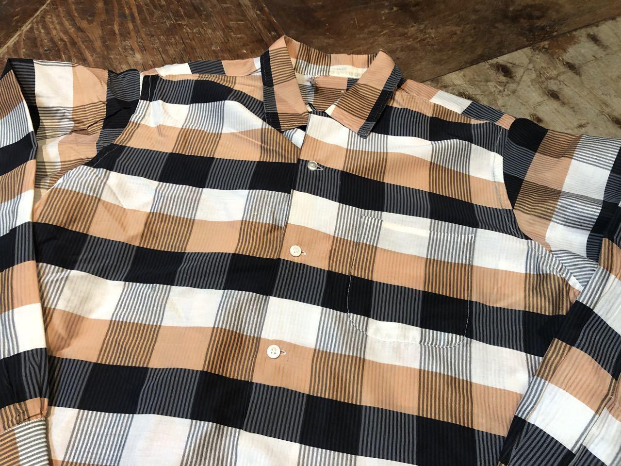 3月21日(土)入荷!60s Cotton&Silk オープンカラー シャツ!_c0144020_16572682.jpg