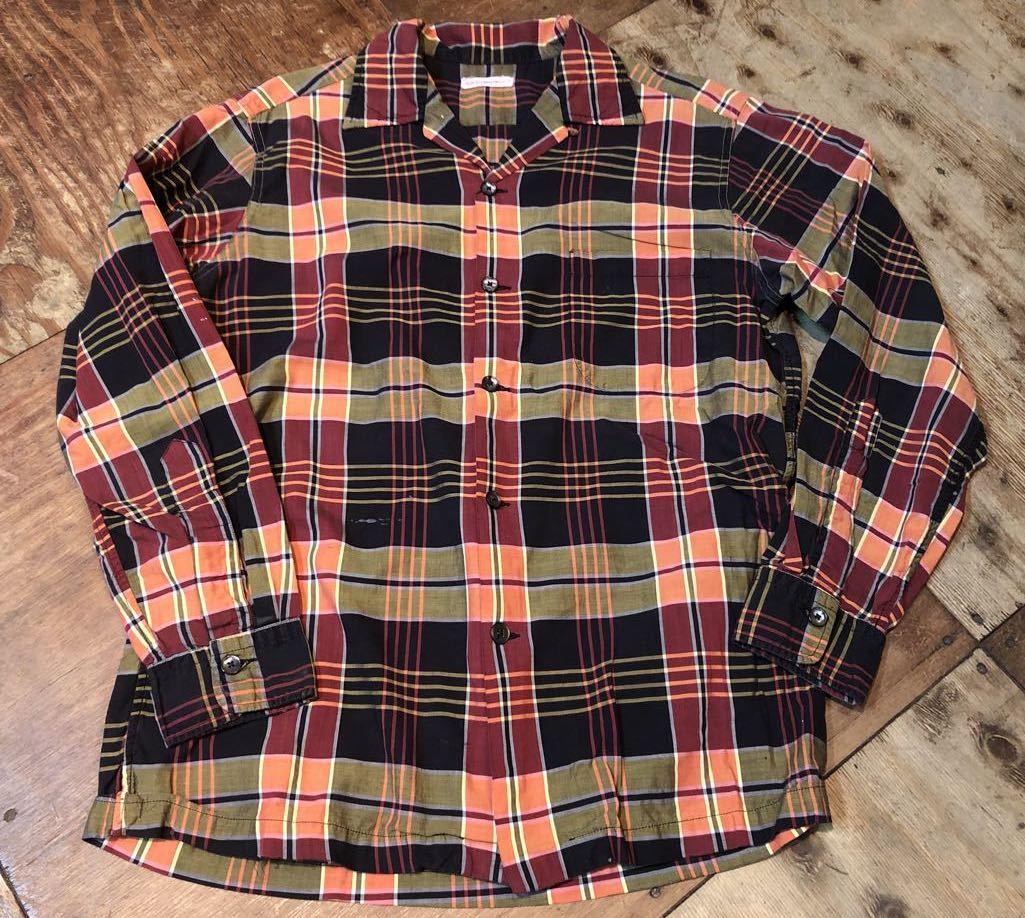 3月21日(土)入荷!60s all cottn D&J Anderson オープンカラーシャツ!_c0144020_16594532.jpg