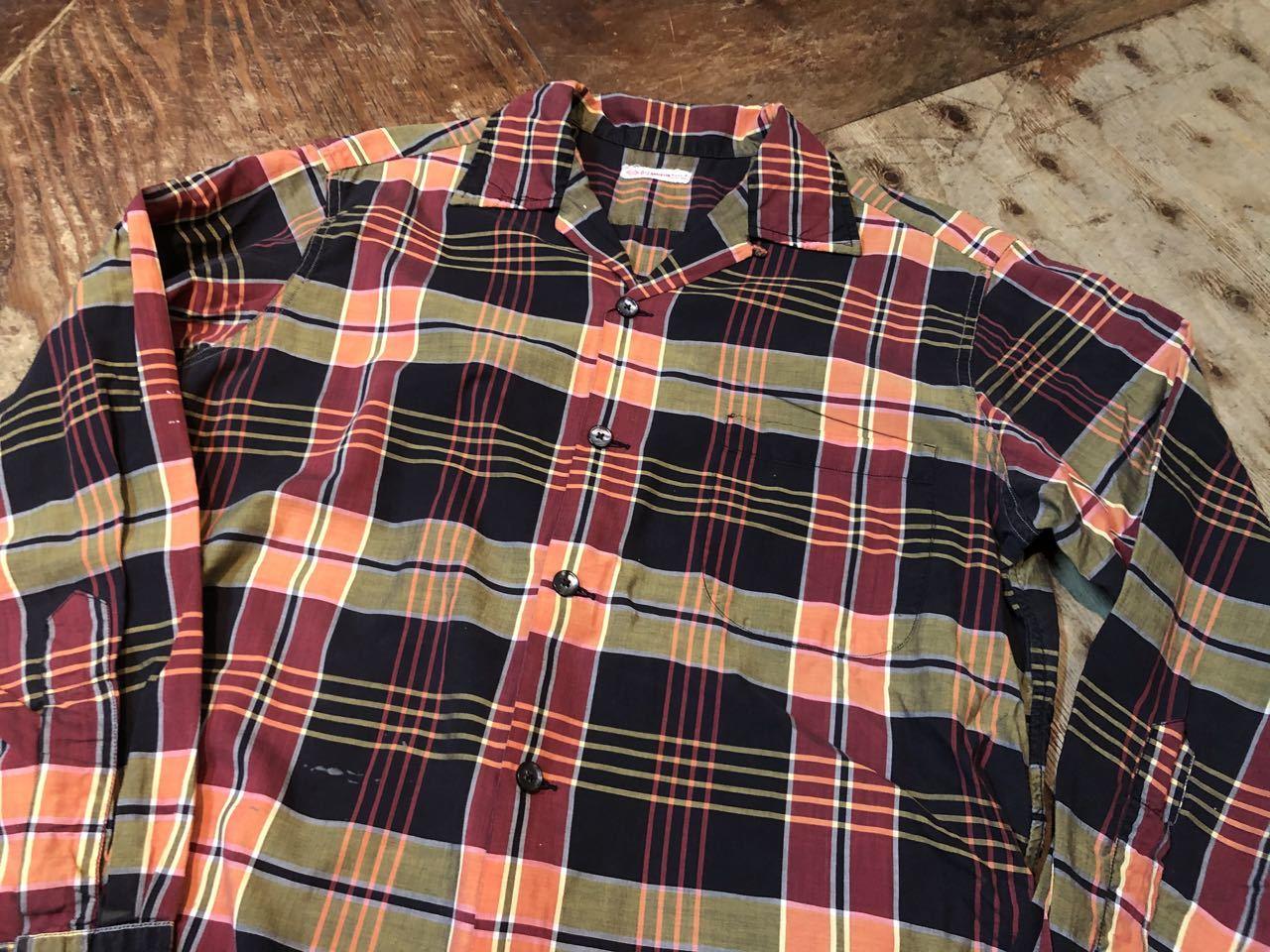 3月21日(土)入荷!60s all cottn D&J Anderson オープンカラーシャツ!_c0144020_16594729.jpg