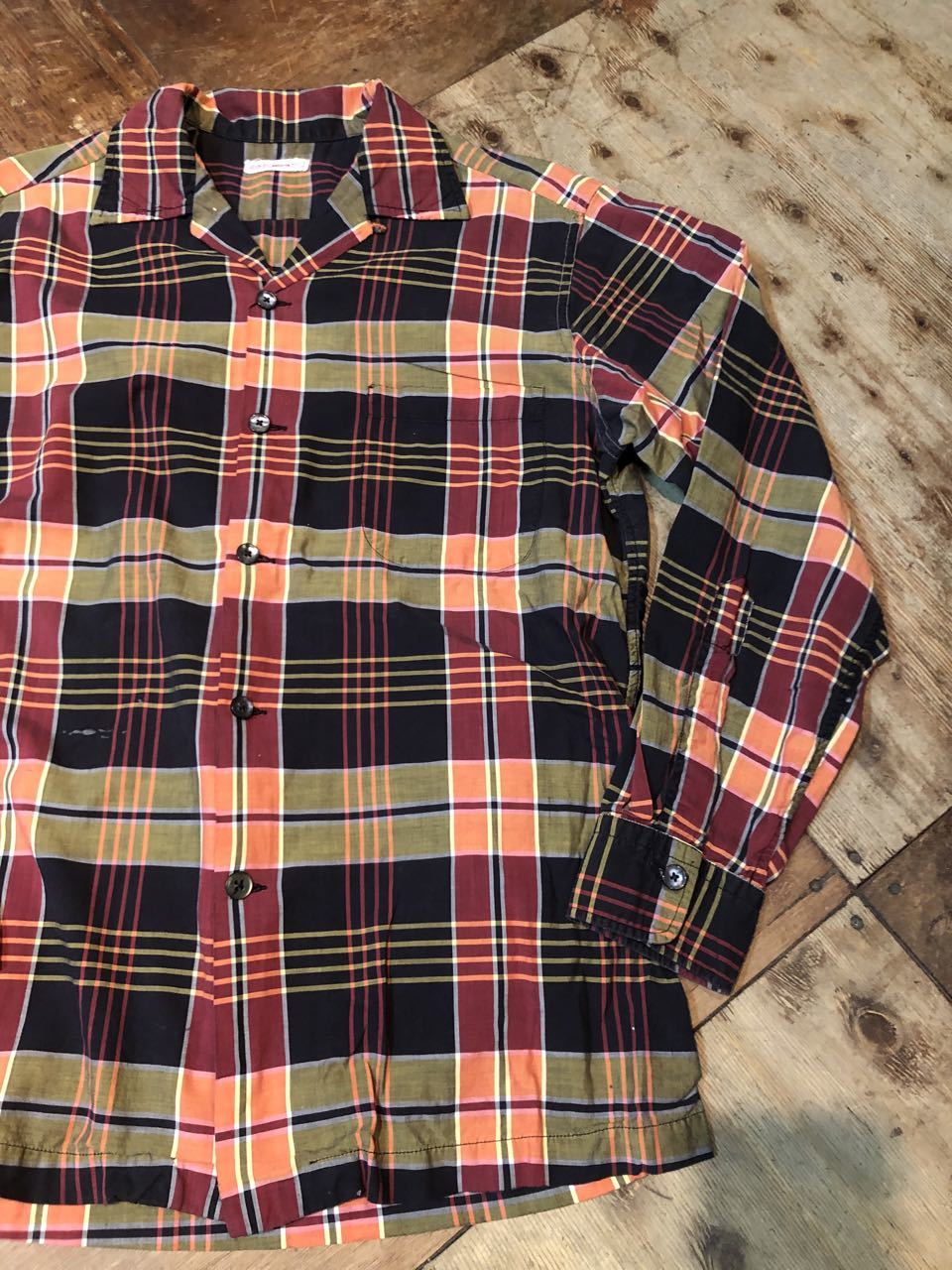 3月21日(土)入荷!60s all cottn D&J Anderson オープンカラーシャツ!_c0144020_16594944.jpg