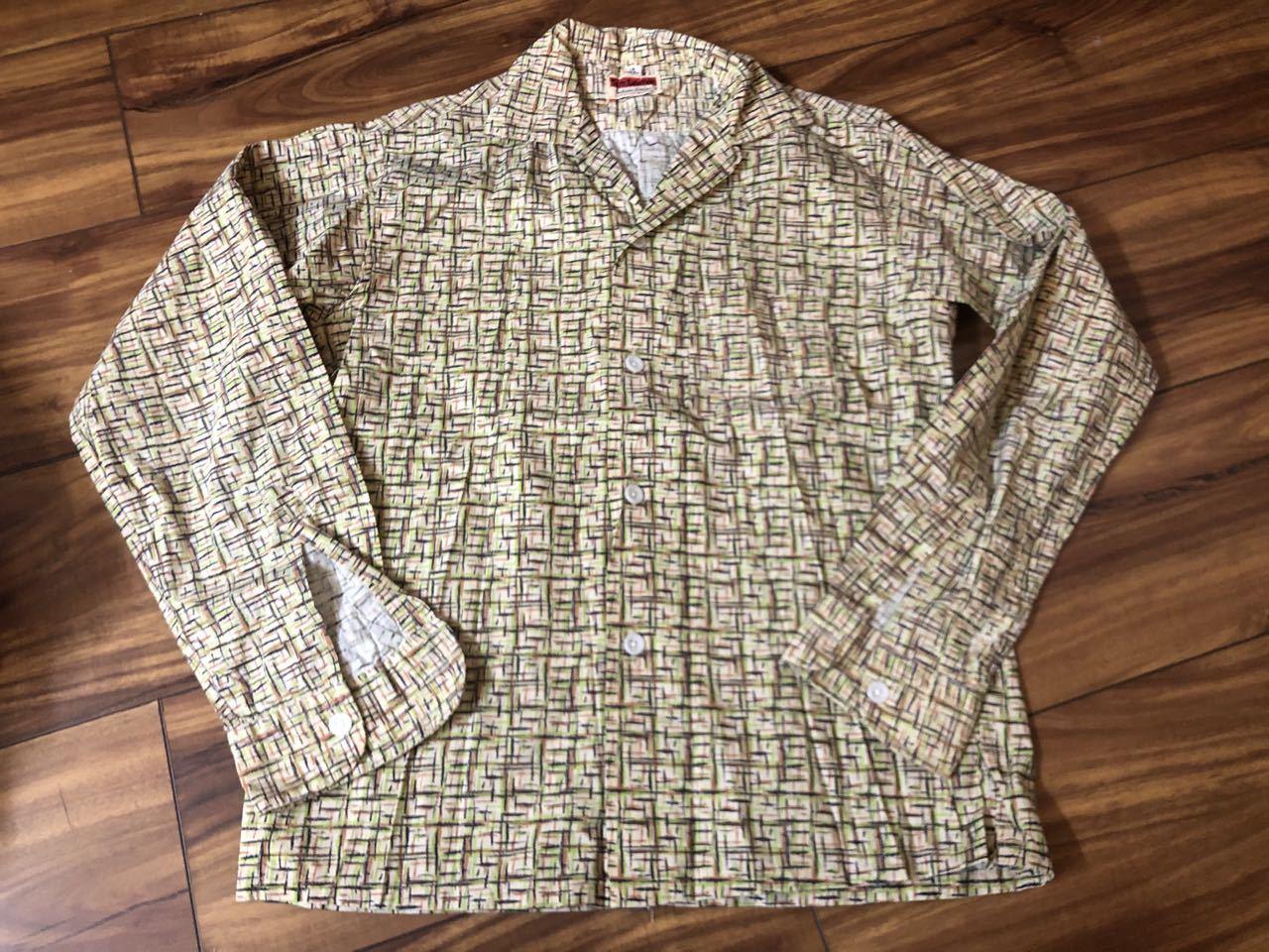 3月21日(土)入荷! 50s all cotton Tom Sawyer カスリ柄シャツ!_c0144020_17122898.jpg