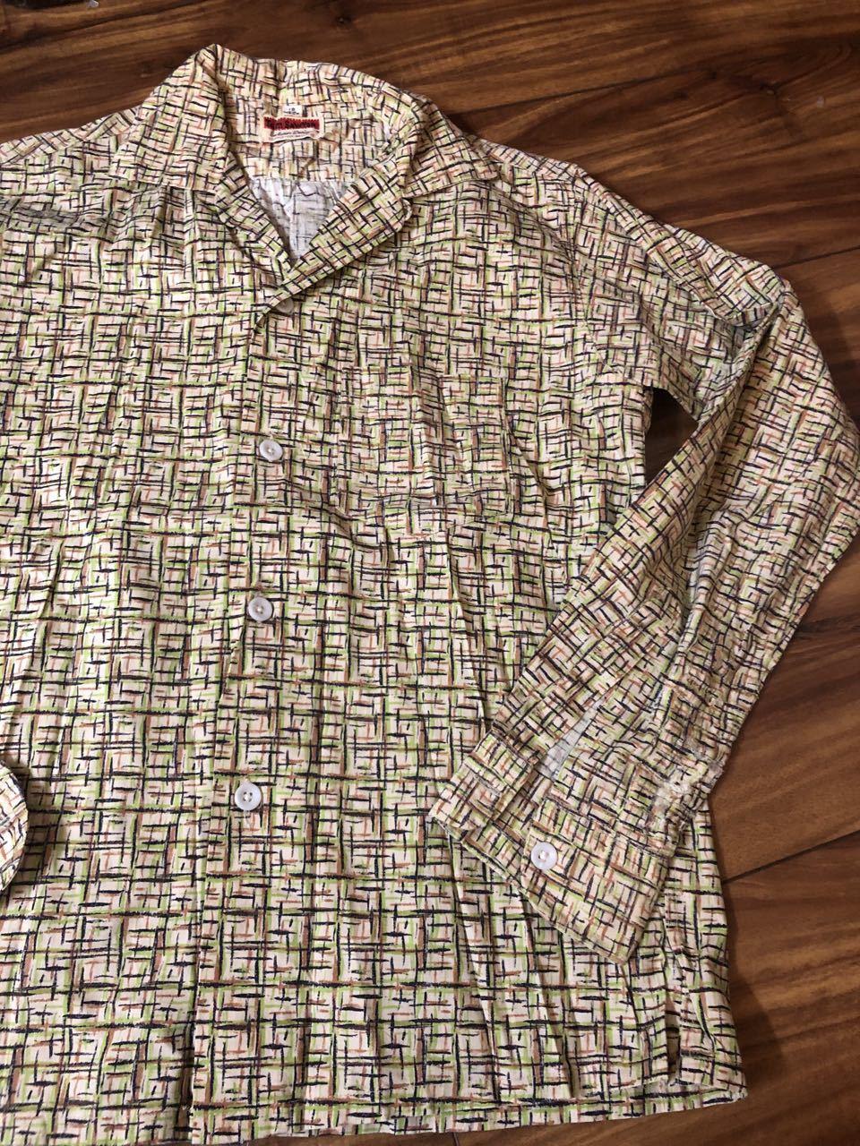 3月21日(土)入荷! 50s all cotton Tom Sawyer カスリ柄シャツ!_c0144020_17123217.jpg