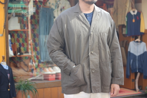 "「orSlow」 ユーロワークな雰囲気を持つ ""LOOSE FIT TAILORED JACKET\"" ご紹介_f0191324_08151158.jpg"