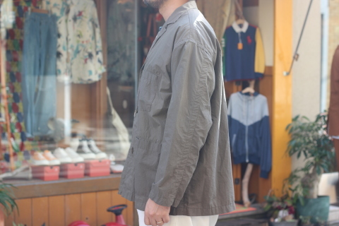 "「orSlow」 ユーロワークな雰囲気を持つ ""LOOSE FIT TAILORED JACKET\"" ご紹介_f0191324_08152067.jpg"