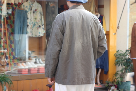 "「orSlow」 ユーロワークな雰囲気を持つ ""LOOSE FIT TAILORED JACKET\"" ご紹介_f0191324_08152847.jpg"