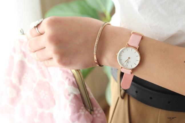 サクラ色♪DWダニエルウェリントン春限定新作腕時計が届きました♪_f0023333_22045286.jpg