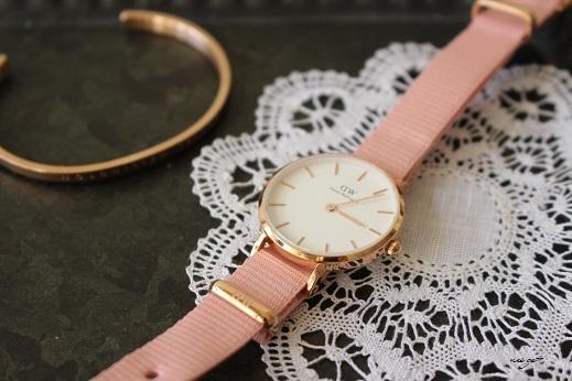 サクラ色♪DWダニエルウェリントン春限定新作腕時計が届きました♪_f0023333_22045290.jpg