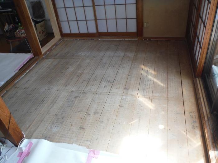 床断熱他 ~ 和室4.5畳、6畳間の床断熱。_d0165368_05251660.jpg