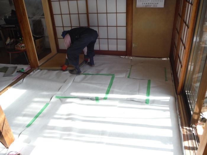 床断熱他 ~ 和室4.5畳、6畳間の床断熱。_d0165368_05265443.jpg