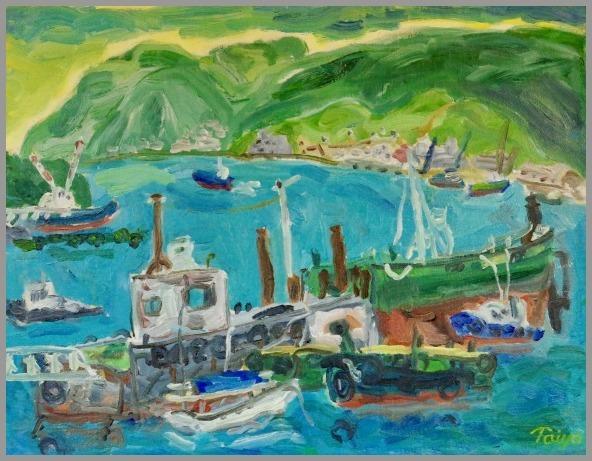 きらり市民ギャラリー 出品予定 船着場 F6 2001_a0086270_10092421.jpg