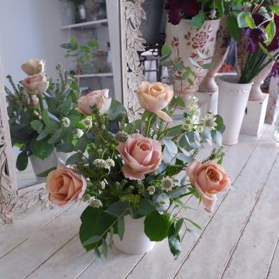 オークリーフ花の教室(東さん親子の作品)_f0049672_19061869.jpg