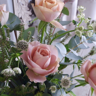 オークリーフ花の教室(東さん親子の作品)_f0049672_19062213.jpg