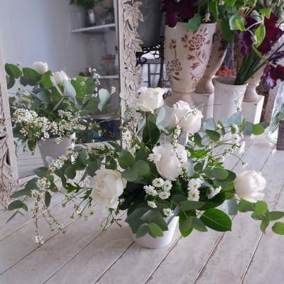 オークリーフ花の教室(東さん親子の作品)_f0049672_19063054.jpg