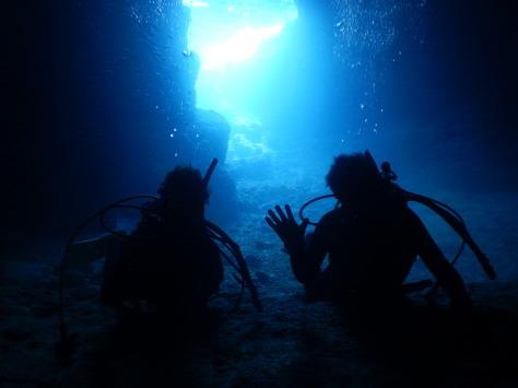 ☆青の洞窟体験ダイビング☆_a0156273_15542919.jpg