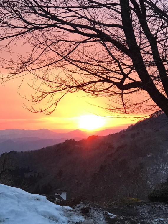 夕陽❣️_b0185375_07323703.jpg