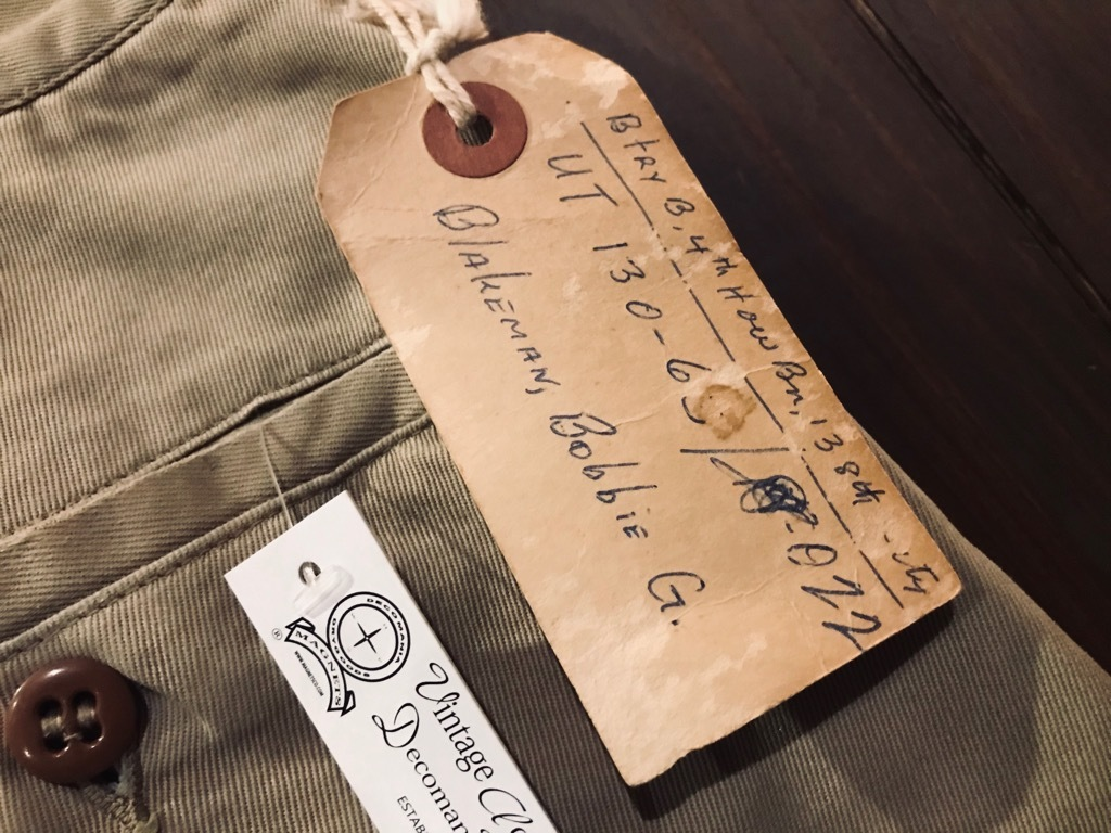 マグネッツ神戸店 3/25(水)Vintage Bottoms入荷! #2 Military Bottoms Part2!!!_c0078587_17031447.jpg