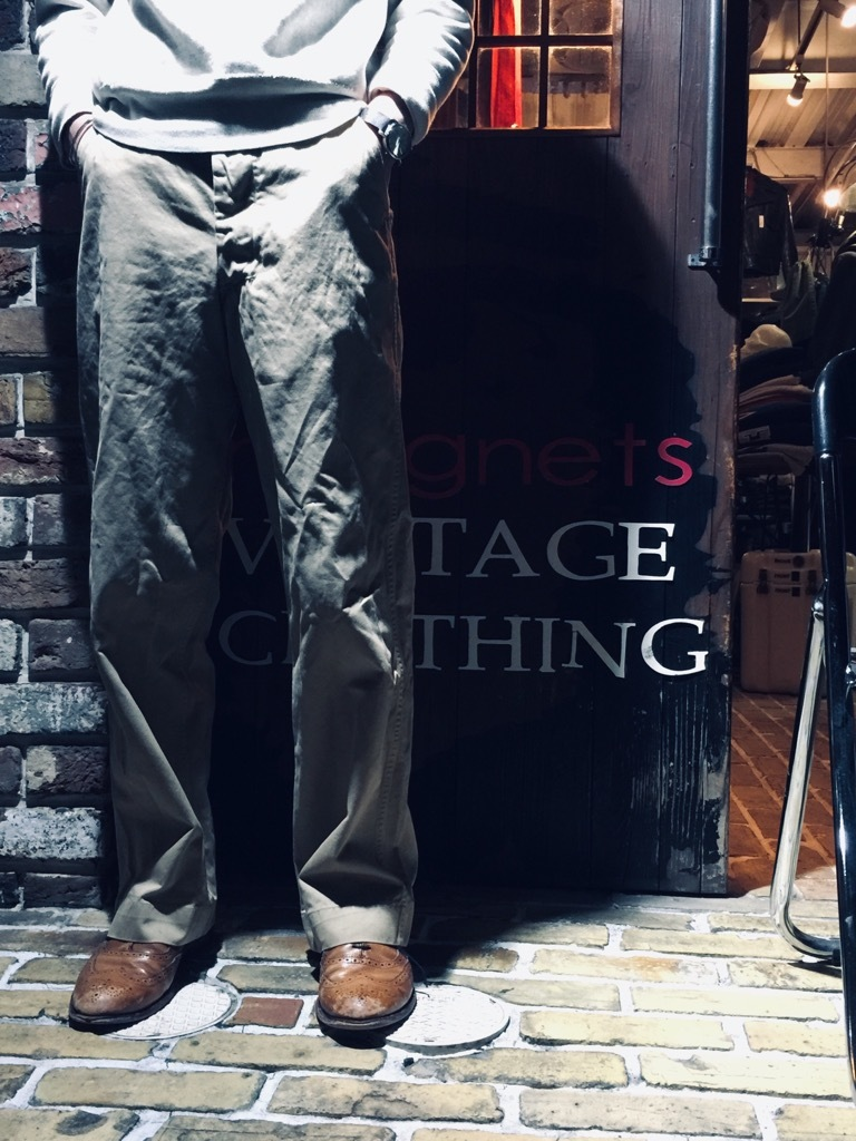 マグネッツ神戸店 3/25(水)Vintage Bottoms入荷! #2 Military Bottoms Part2!!!_c0078587_23005920.jpg