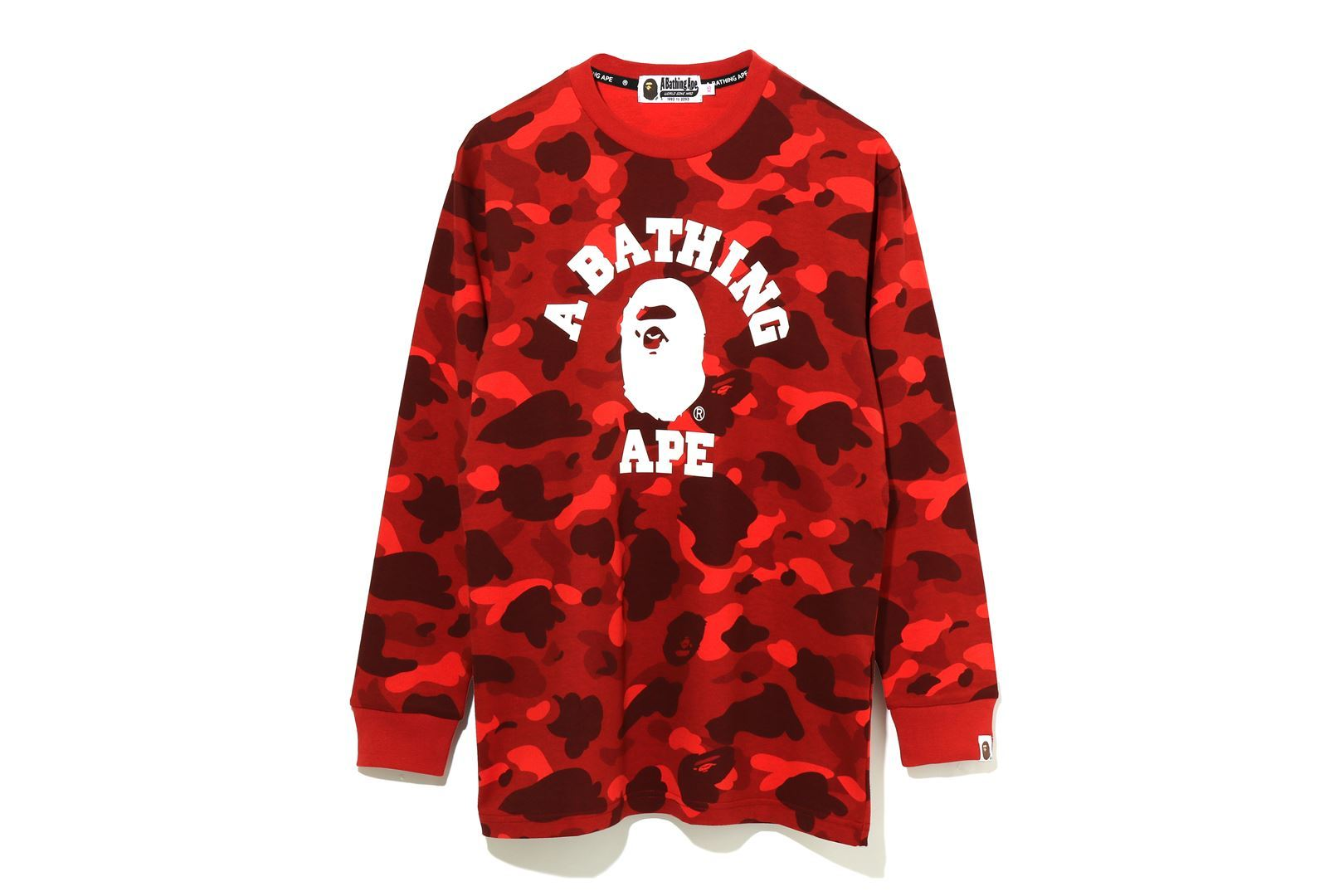 COLOR CAMO COLLEGE L/S TEE_a0174495_16084096.jpg