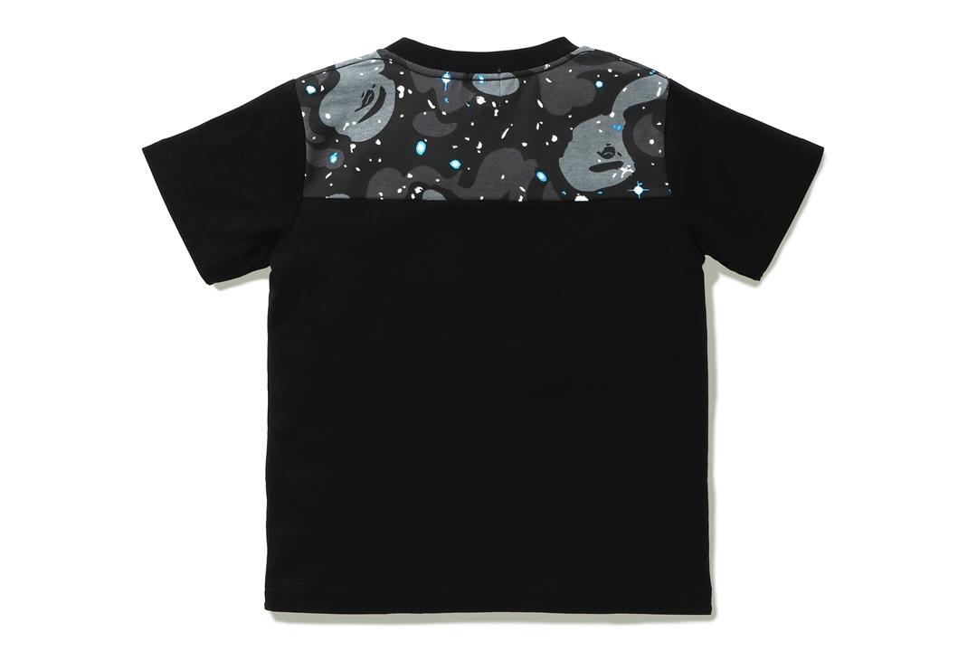 SPACE CAMO BAPE® AURORA LOGO TEE_a0174495_16454637.jpg
