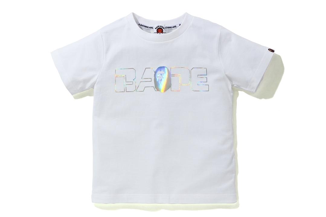 SPACE CAMO BAPE® AURORA LOGO TEE_a0174495_16455327.jpg