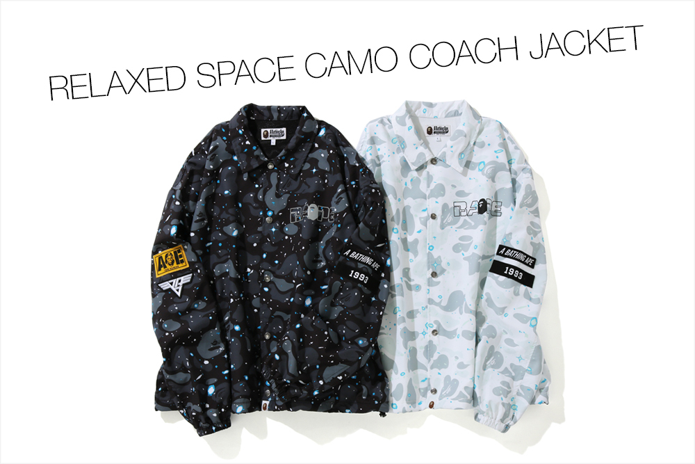 RELAXED SPACE CAMO COACH JACKET_a0174495_16544360.jpg