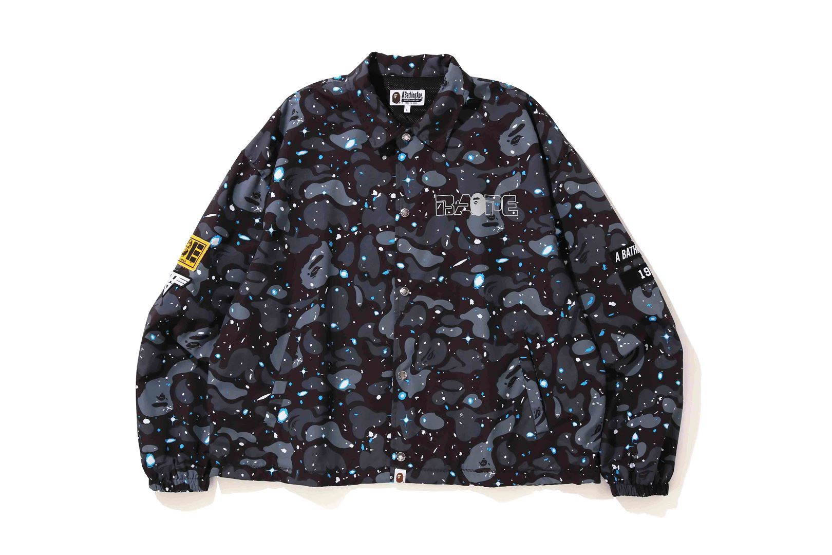 RELAXED SPACE CAMO COACH JACKET_a0174495_17002912.jpg