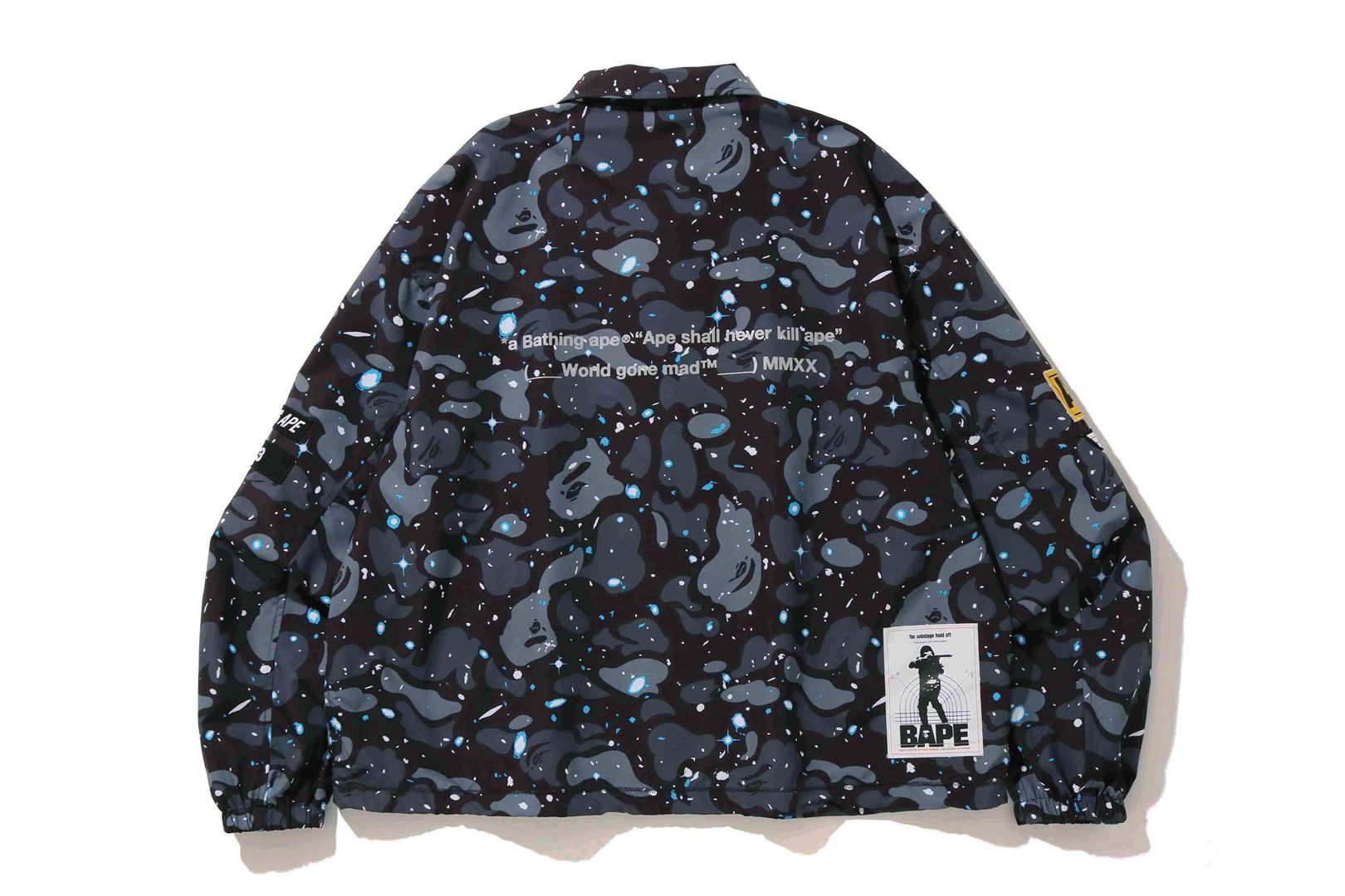 RELAXED SPACE CAMO COACH JACKET_a0174495_17003888.jpg