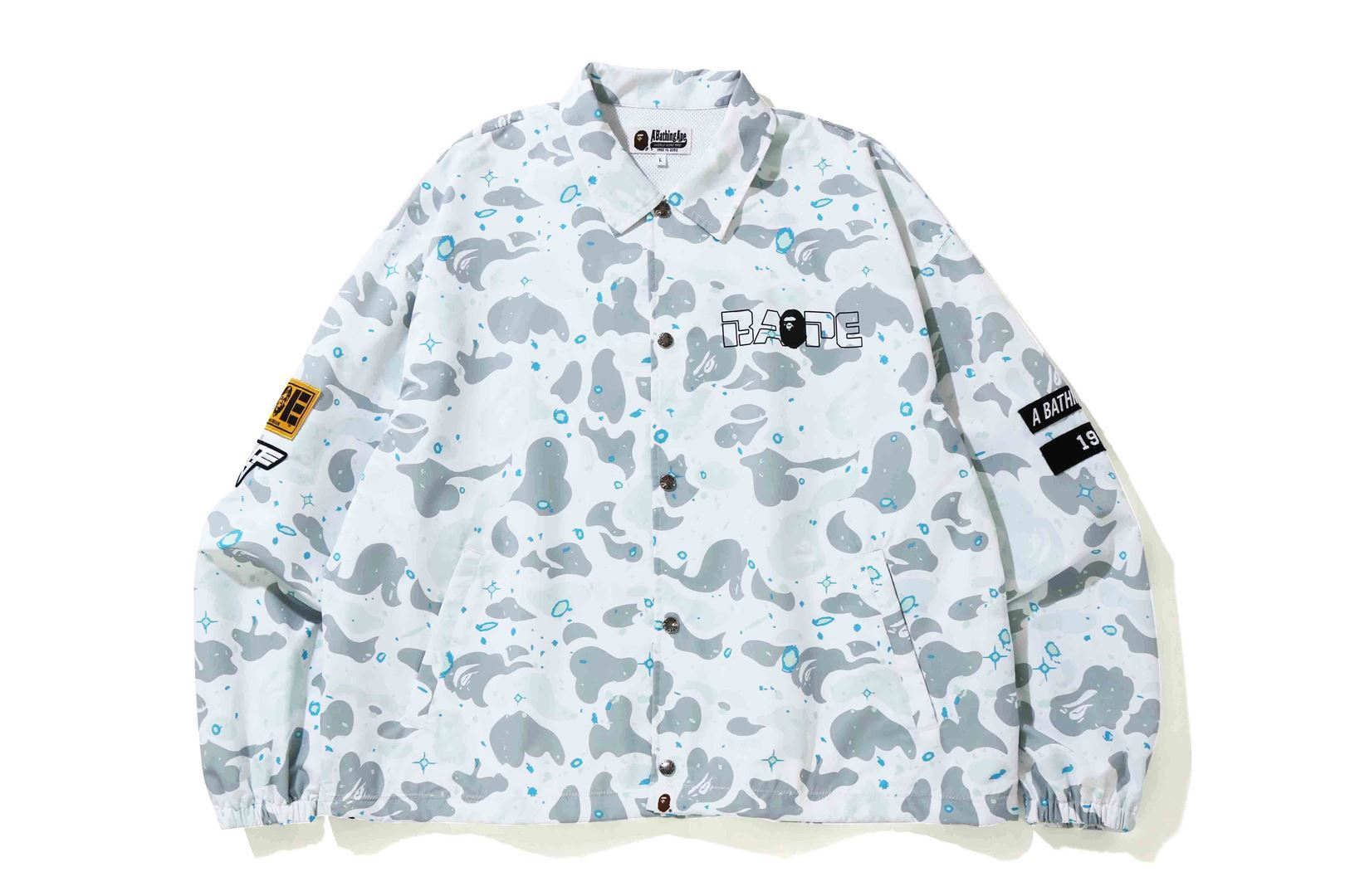 RELAXED SPACE CAMO COACH JACKET_a0174495_17011432.jpg