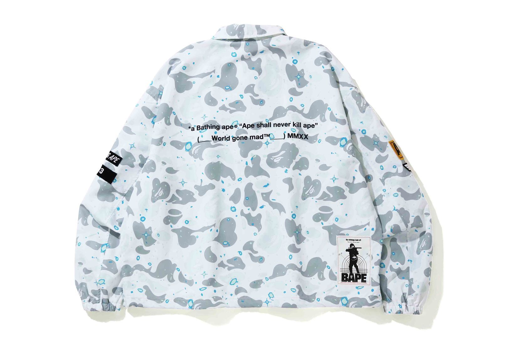 RELAXED SPACE CAMO COACH JACKET_a0174495_17012154.jpg