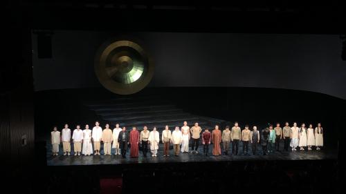 『ピサロ』in PARCO劇場 開幕_f0061797_21183090.jpg