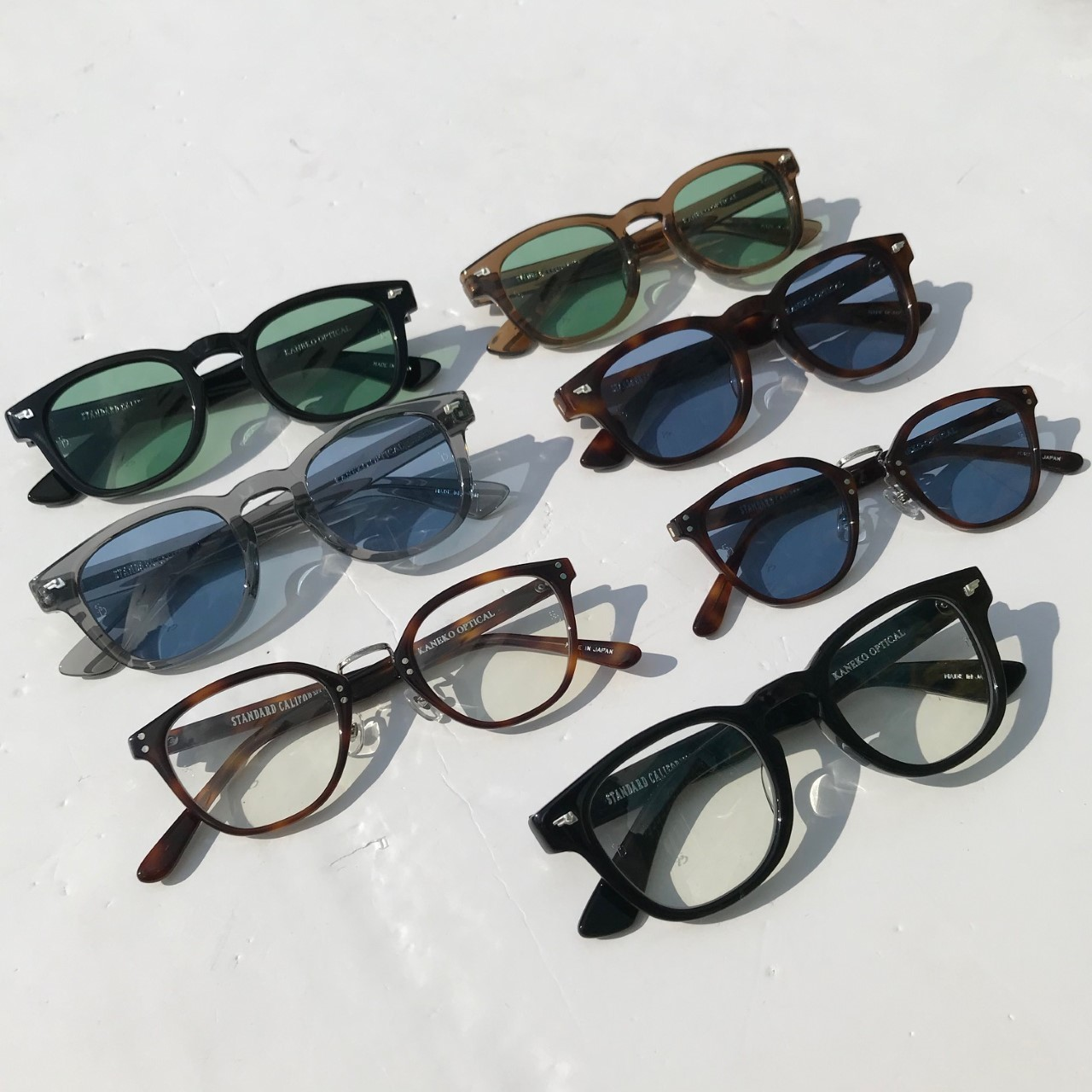 【DELIVERY】 STANDARD CALIFORNIA - KANEKO OPTICAL×SD Sunglasses_a0076701_13140518.jpg