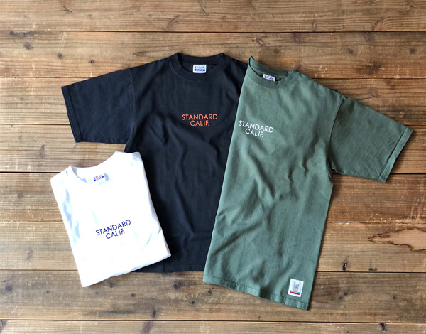 【DELIVERY】 STANDARD CALIFORNIA - Heavyweight T with Logo_a0076701_19441009.jpg