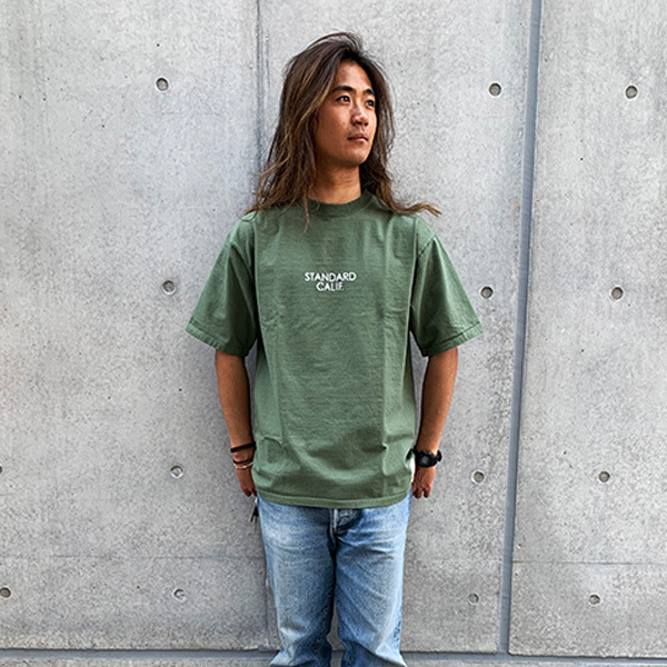 【DELIVERY】 STANDARD CALIFORNIA - Heavyweight T with Logo_a0076701_19471938.jpg