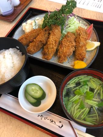 カキフライ定食_d0235108_21215115.jpg