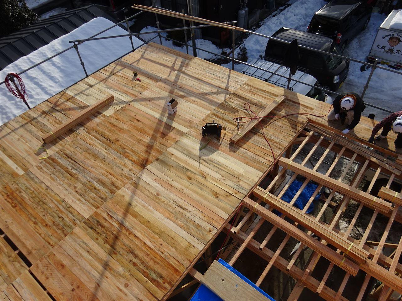 緑ヶ丘 アトリエのある家 建て方進行中!_f0105112_04110525.jpg