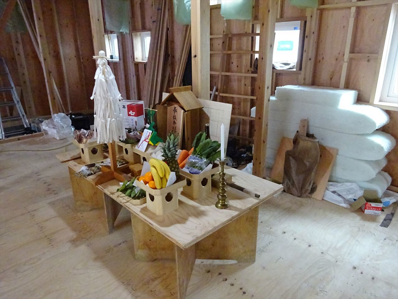 田沢湖の家 上棟式を執り行いました!_f0105112_16200701.jpg