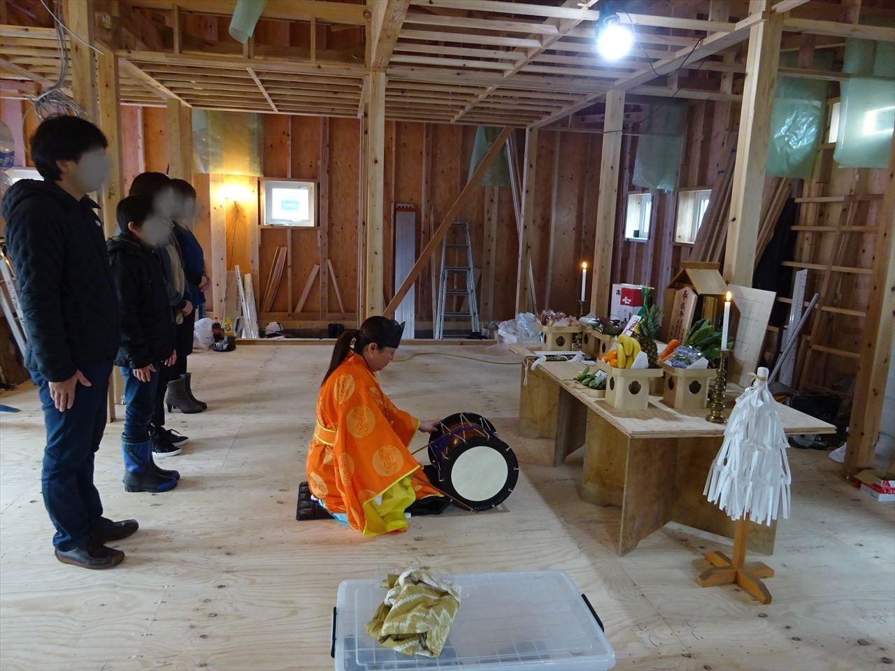 田沢湖の家 上棟式を執り行いました!_f0105112_16200736.jpg