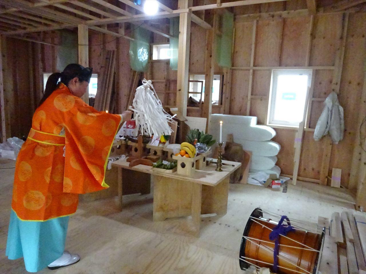 田沢湖の家 上棟式を執り行いました!_f0105112_16200877.jpg