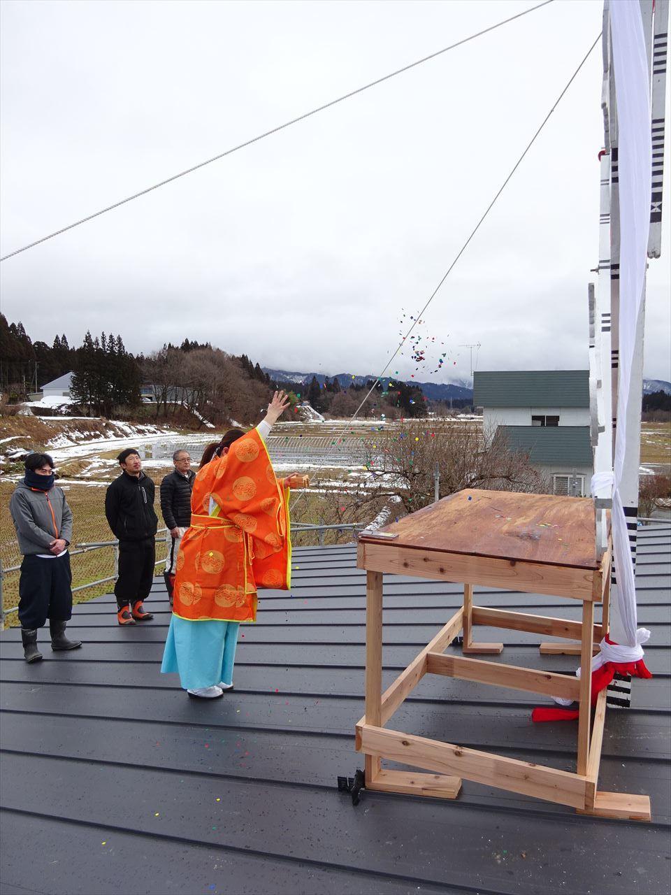 田沢湖の家 上棟式を執り行いました!_f0105112_16253885.jpg