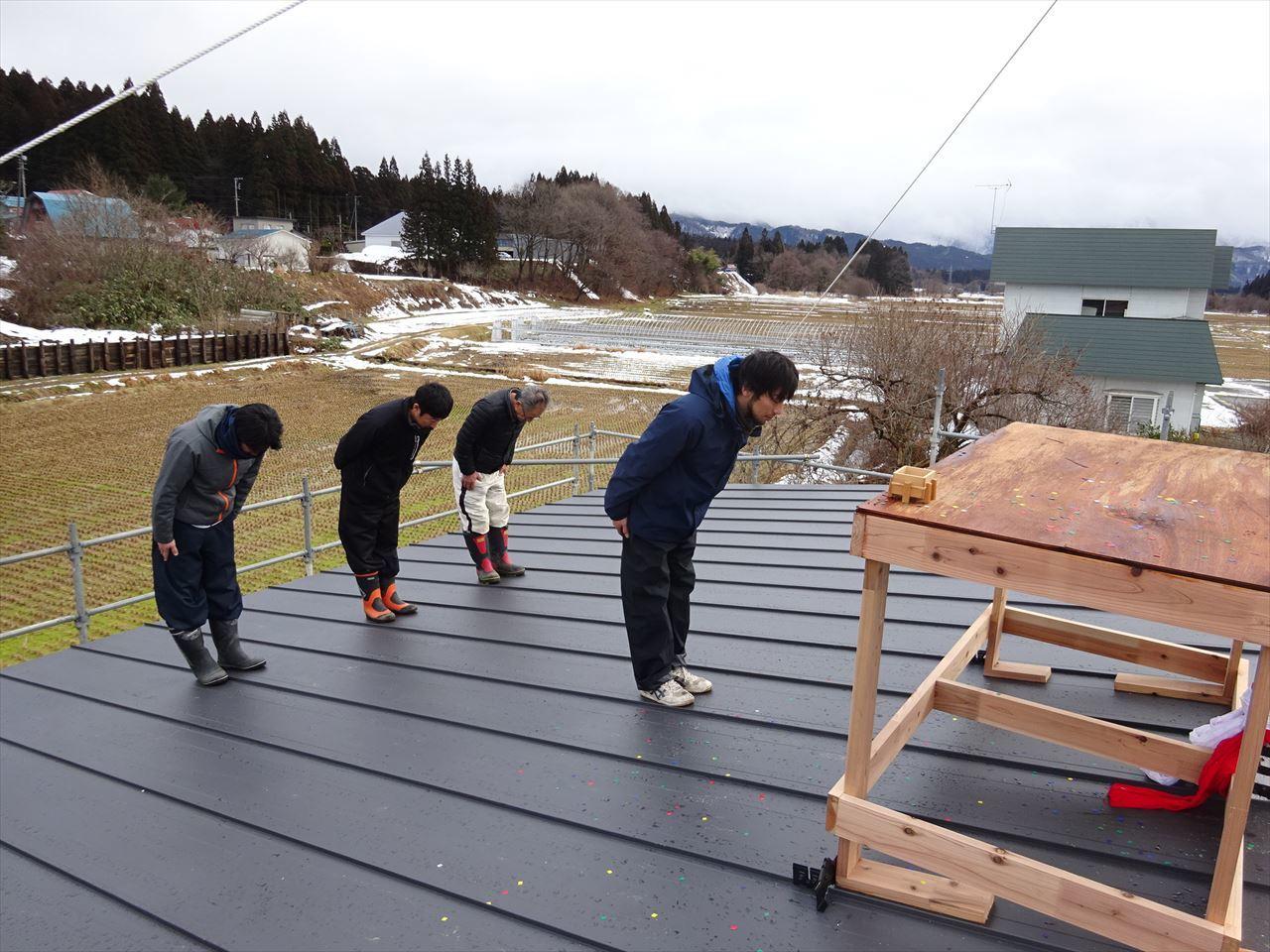 田沢湖の家 上棟式を執り行いました!_f0105112_16253928.jpg