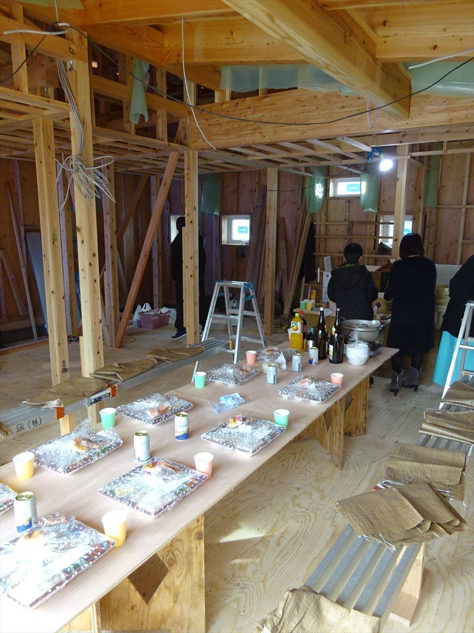 田沢湖の家 上棟式を執り行いました!_f0105112_16303427.jpg