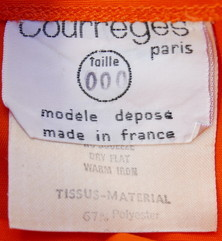 Coodinate Courreges skirt_f0144612_09272971.jpg