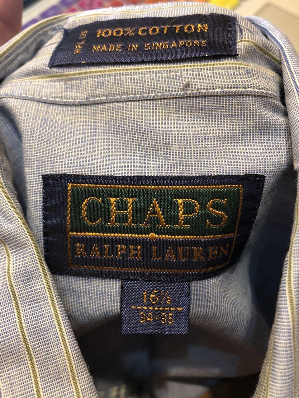 3月22日(日)入荷!90s CHAPS RALPH LAUREN CRAZY PATTERN SHIRTS!_c0144020_17533119.jpg