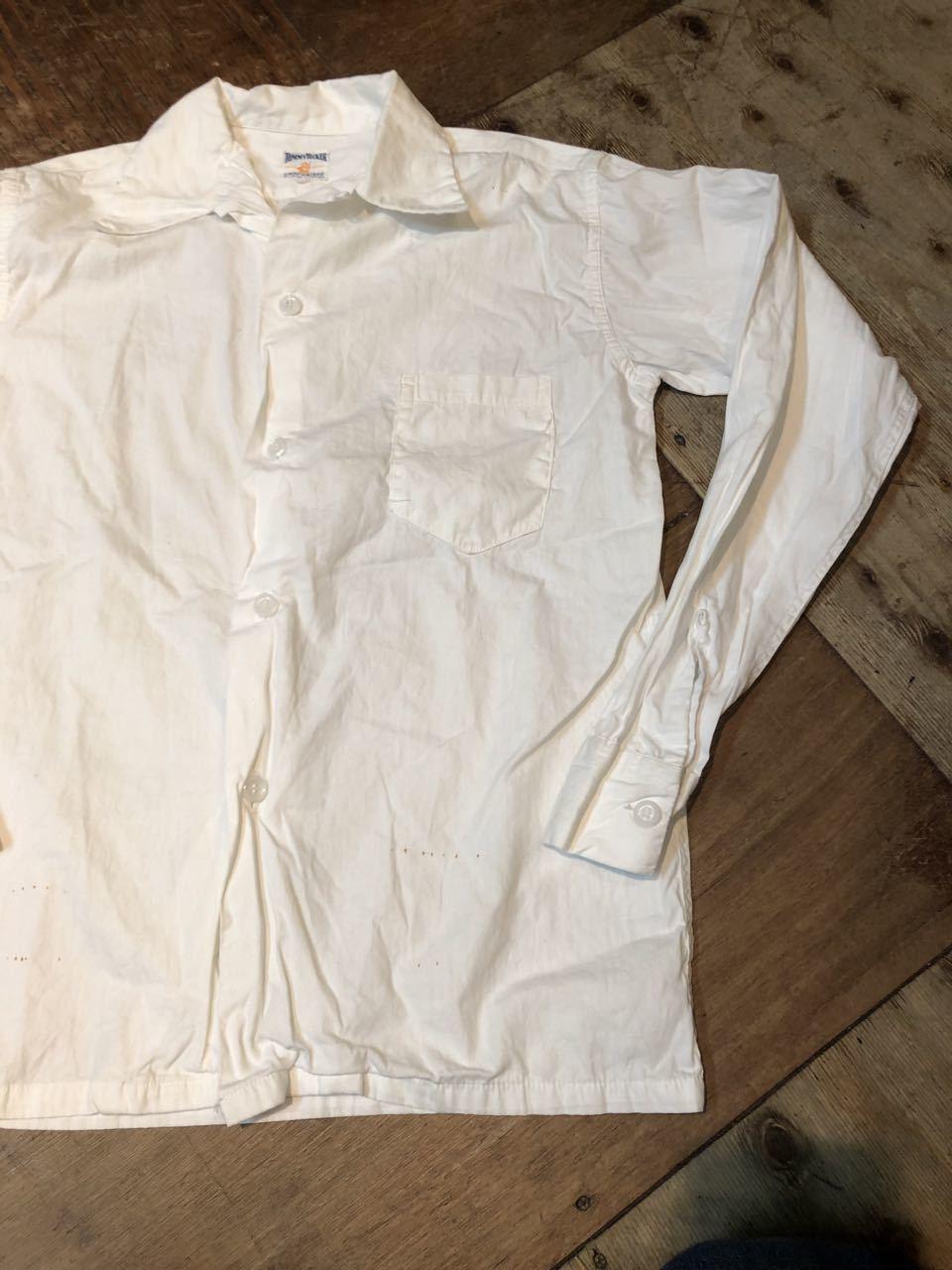 3月22日(日)入荷!50s オープンカラー ビンテージ Tommy Tucker  white shirts!_c0144020_18190971.jpg