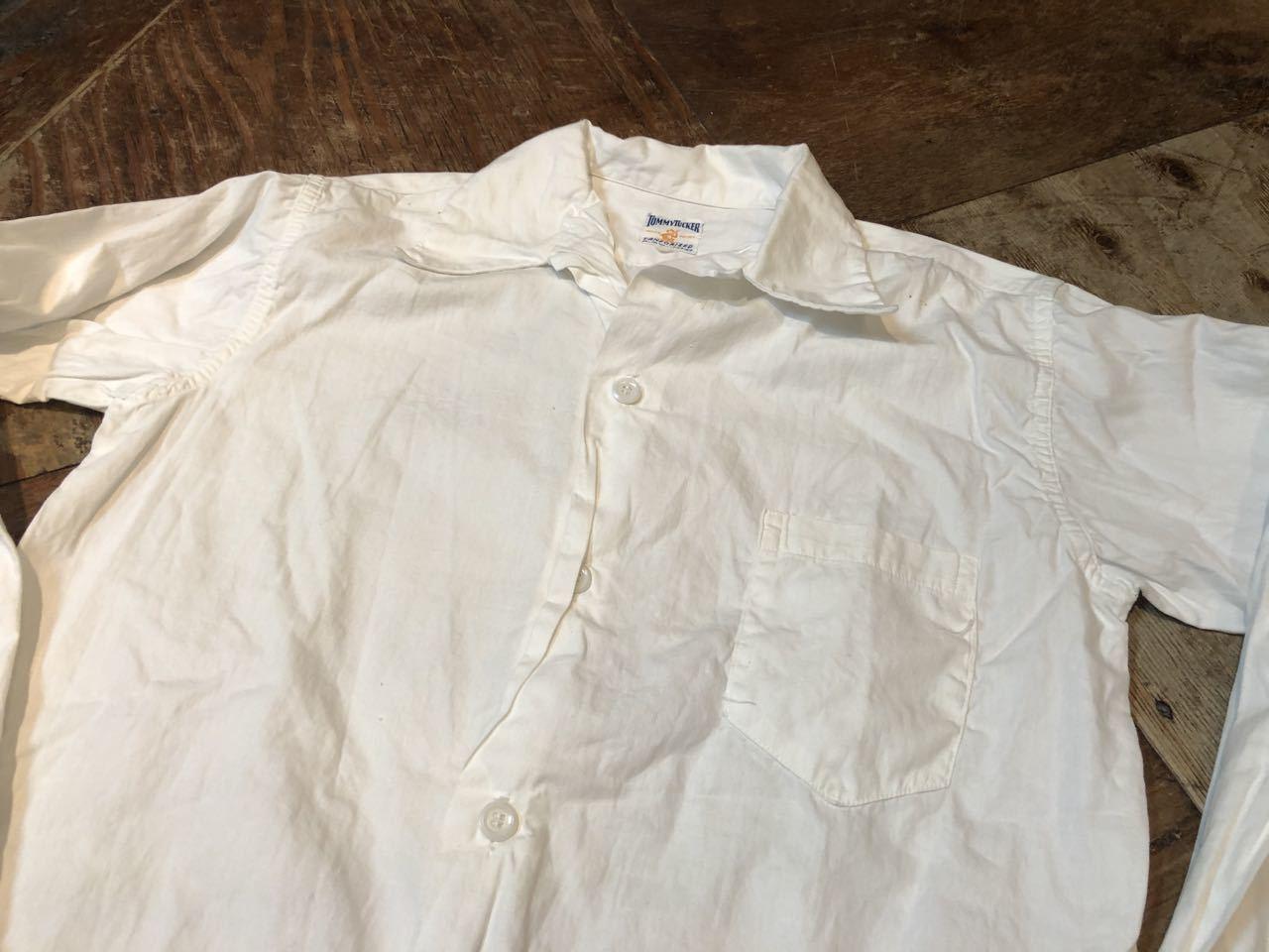 3月22日(日)入荷!50s オープンカラー ビンテージ Tommy Tucker  white shirts!_c0144020_18191135.jpg