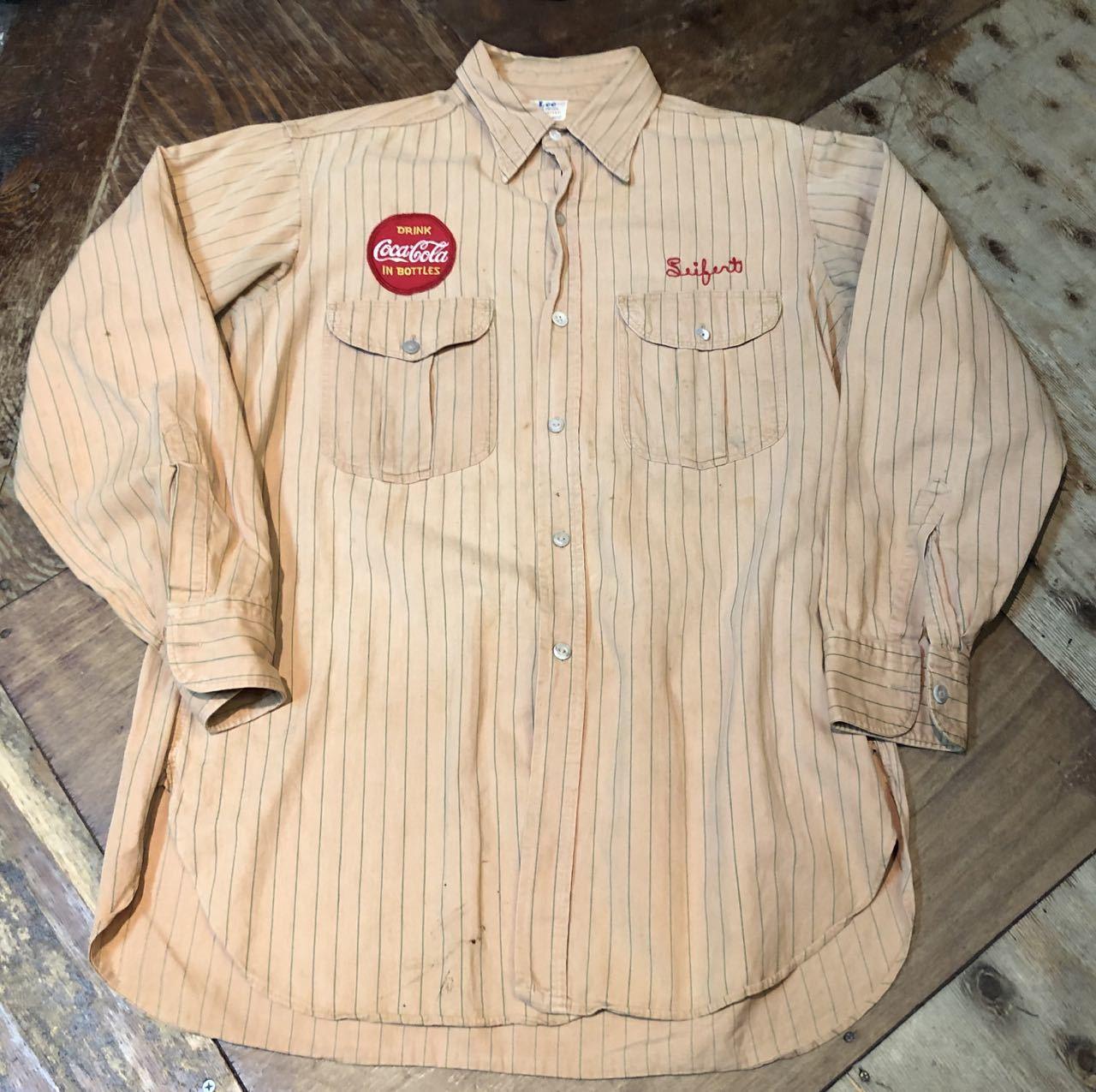 3月22日(日)入荷!40s マチ付き HBT Lee Coke Uniform ! コカコーラ ユニフォーム!_c0144020_18235360.jpg